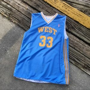"Nike Supreme Court NBA Basketball ""West"" jersey."